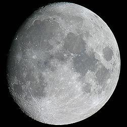 Dünya'dan görüldüğü haliyle Ay