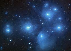 Ülker açık yıldız kümesi.