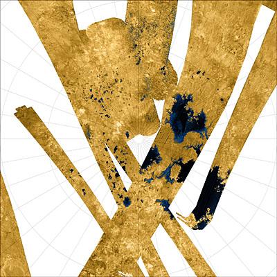 Titan'ın Güney Kutbu