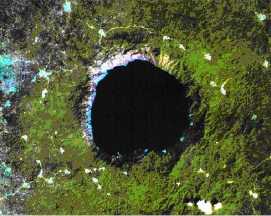 Bosumtwi Krateri