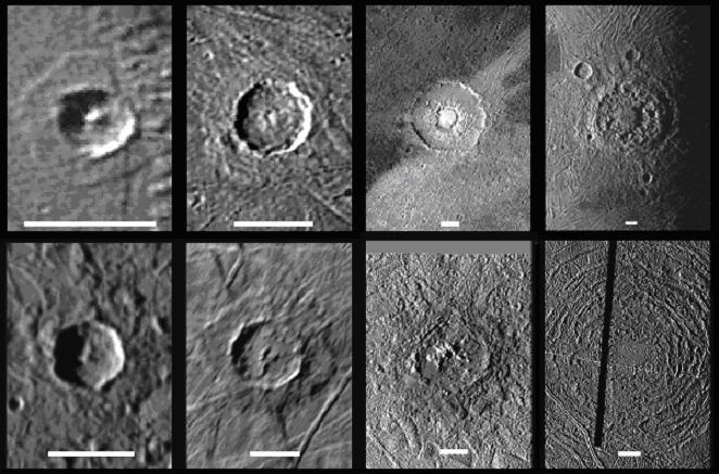 Çeşitli Kraterler