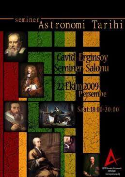 Astronomi Tarihi Semineri