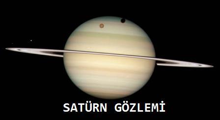 Satürn Gözlemi