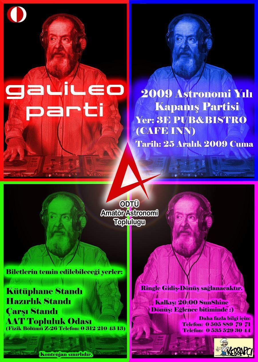 2009 Astronomi Yılı Kapanış Partisi