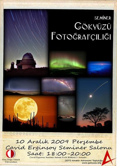 Gökyüzü Fotoğrafçılığı Semineri