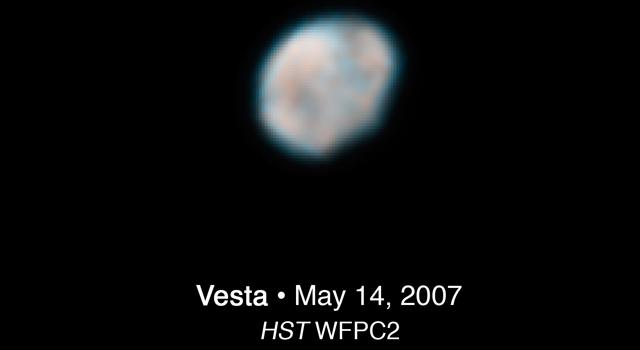 Çıplak Gözle Vesta