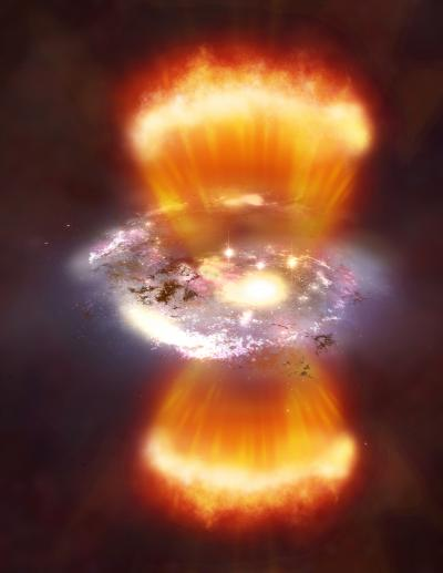 Yıldız Oluşumunu Engelleyen Patlamalar