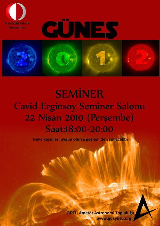 Güneş - 2012 Semineri