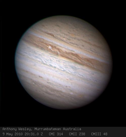 Jüpiter'in Bir Kuşağı Kayboldu