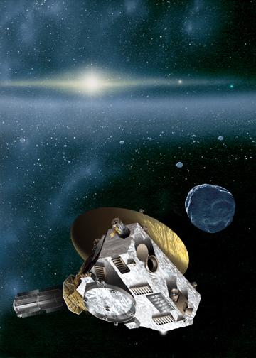New Horizons Yolu Yarıladı