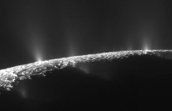 Enceladus'taki Okyanus