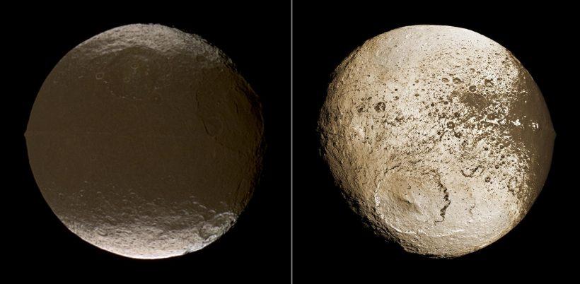 Iapetus'un Gizemleri