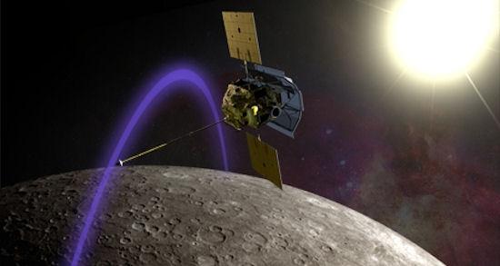 MESSENGER Yörüngeye Oturdu