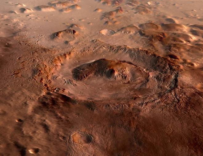 Mars'ta su bulunduğuna dair kanıtlar içeren Gale Krateri