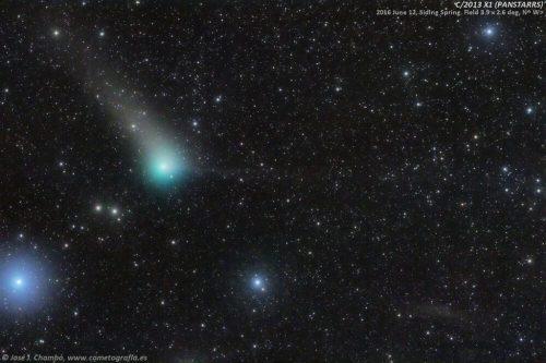 Güneybalığı'ndaki PanSTARRS Kuyrukluyıldızı