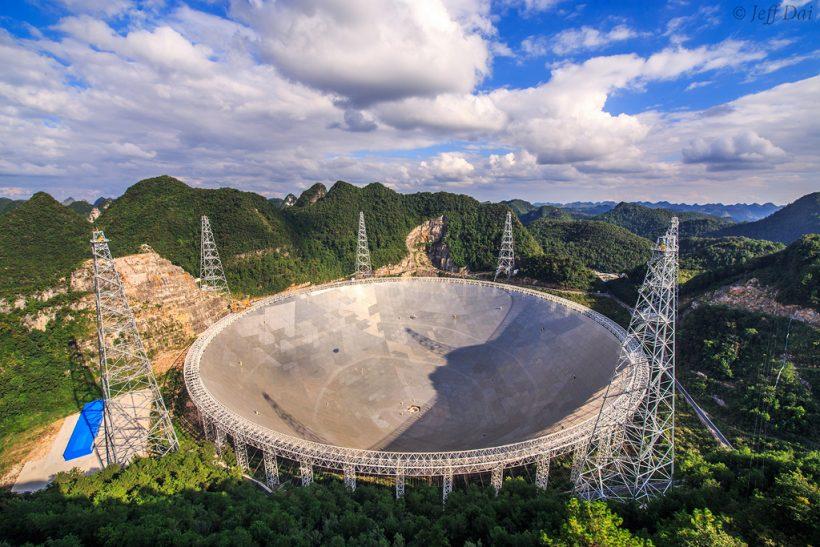 Beş Yüz Metre Açıklıklı Küresel Teleskop