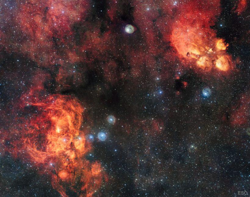 Günün Gökbilim Görüntüsü – 7 Şubat 2017 – NGC 6357: Istakoz Bulutsusu