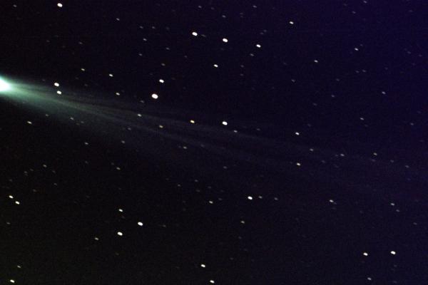 ISON kuyruklu yıldızının yalnızlığının son anları.