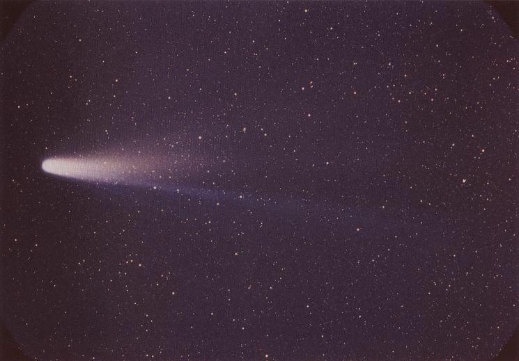 Halley. Telif: NASA