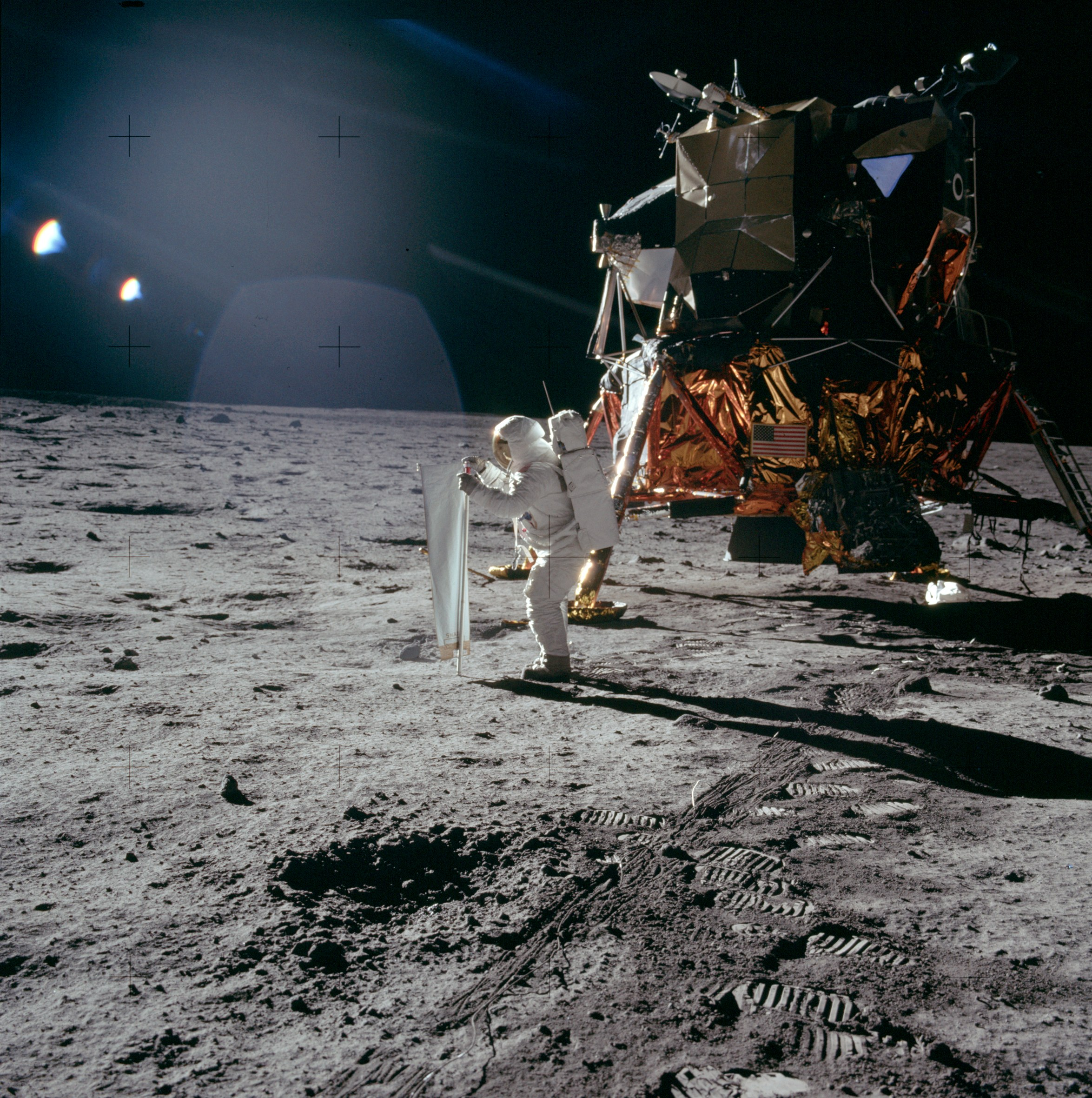 the moon landing - HD 1024×1029