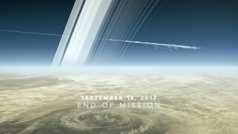 15 Eylül 2017 - Cassini'nin Görevinin Sonu