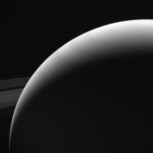 Cassini'nin çektiği son fotoğraflardan biri...